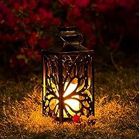 OxyLED Solar Lantern, LED Solar Garden Lights Outdoor, Hanging Lanterns Solar Powered with Handle Waterproof, Decorative…