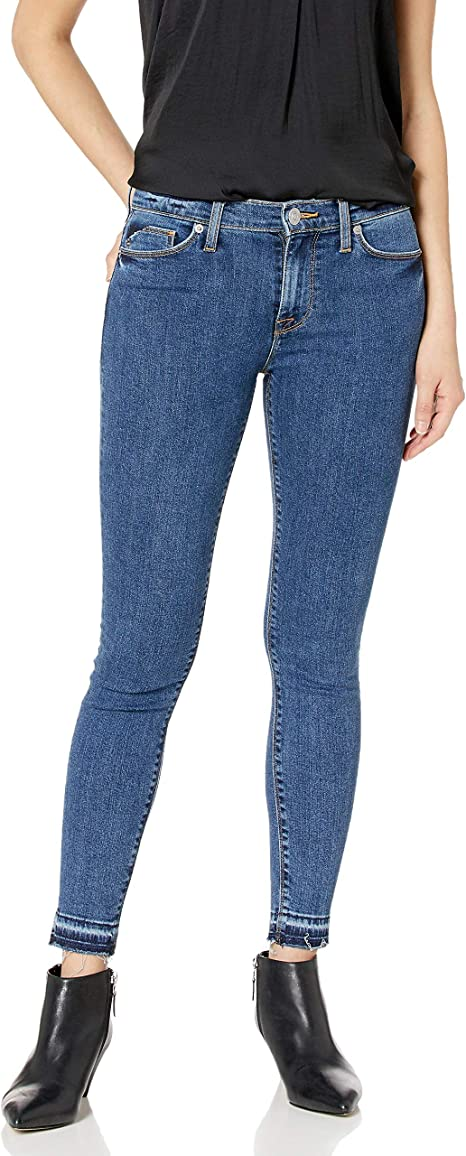 Hudson Jeans Damen Nico Midrise Ankle Skinny with Released