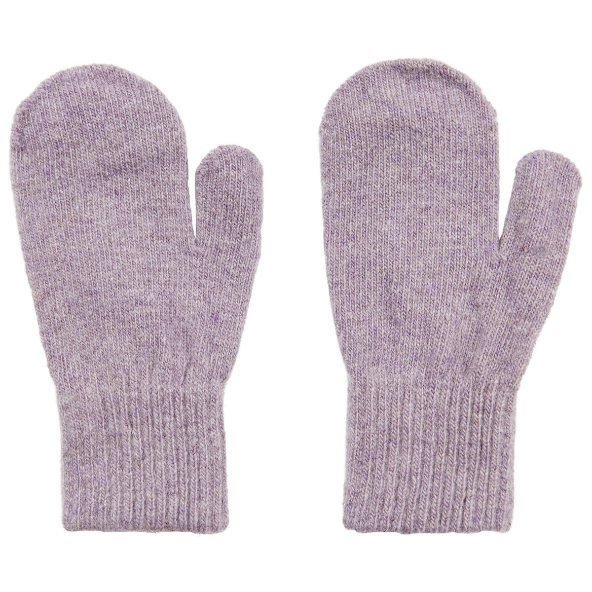 Wool Baby-Toddler Mittens - Lavender (1-2 Years)