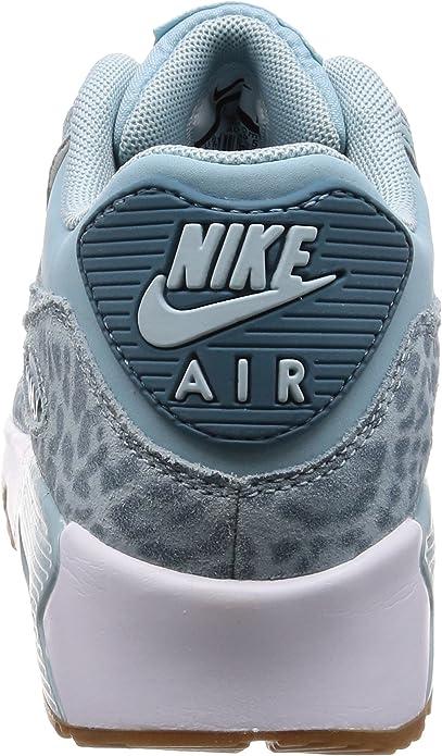 Nike Air Max 90 LTR Se GG, Baskets Femme, Bleu (Ocean Bliss