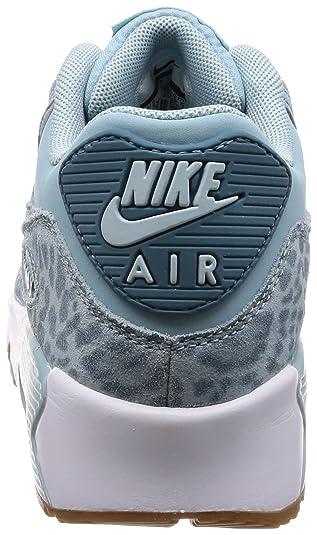 factory price 9a8cd 82878 Nike Air Max 90 LTR Se GG, Chaussures de Gymnastique Fille, Bleu (Ocean  Bliss Noise Aqua-White 897987-400), 35.5 EU  Amazon.fr  Chaussures et Sacs