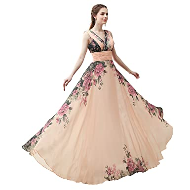 JinXuanYa Women Fashion V-Shaped Neckline Gowns Prom Dresses Bridesmaid Dresses formally AAA140 (2
