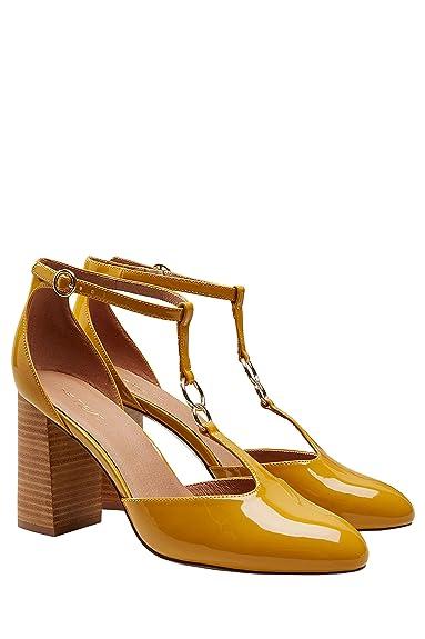 64b5b0d871c next Chaussures Style salomé à Talons carrés Femme Regular  Amazon ...