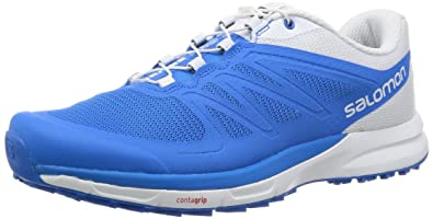 Salomon Herren Sense Pro 2 Traillaufschuhe, Blau (Bright Blue/Bright  Blue/White