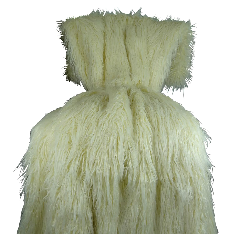 80 x 95cm New Luxury 3D soft White Sheep baby blanket