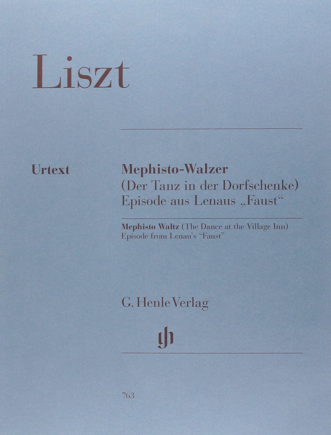 Liszt: Mephisto Waltz (The Dance at the Village Inn): Franz Liszt:  9790201807638: Amazon.com: Books