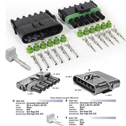 Amazon com: Delphi Packard (6 Circuits) Weatherpack