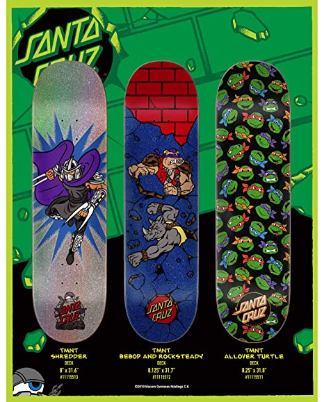 Santa Cruz - Tabla de Skateboard Teenage Mutant Ninja ...