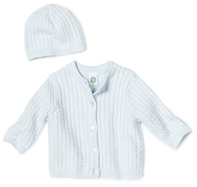 5f0b6cfc1 Amazon.com  Little Me Baby Boys  Adorable Cable Sweater  Infant And ...