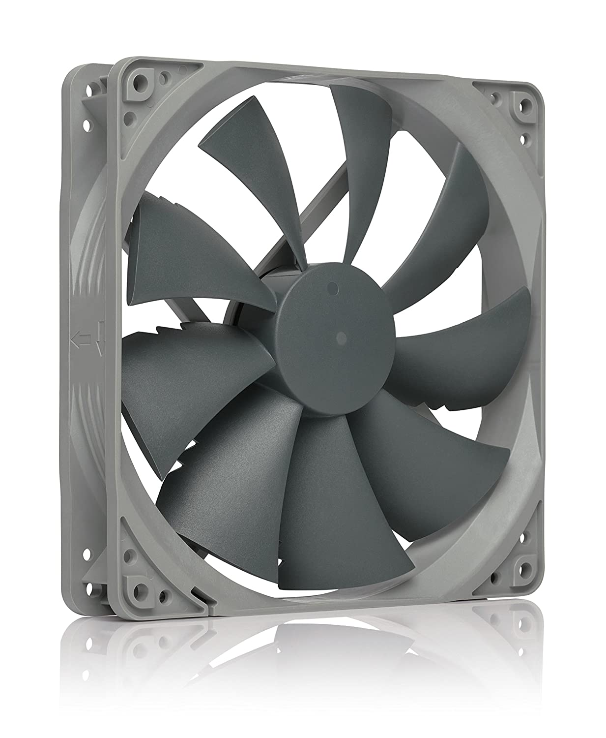 Noctua NF-P14s redux-1200 PWM, High Performance Cooling Fan, 4-Pin, 1200 RPM (140mm, Grey)