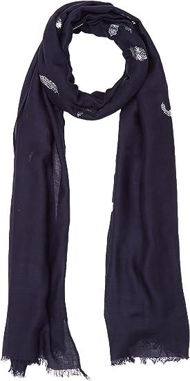 Morgan 181-5FOFO.A Echarpe Bleu Unique (Taille Fabricant: TTU) Lot de Bufanda, azul (Marine), Talla única para Mujer