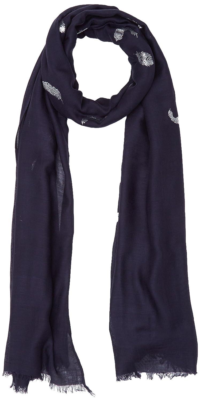 Morgan 181-5FOFO.A Echarpe Bleu (Marine) Unique (Taille Fabricant: TTU) Lot de, Bufanda para Mujer, Azul, Talla única
