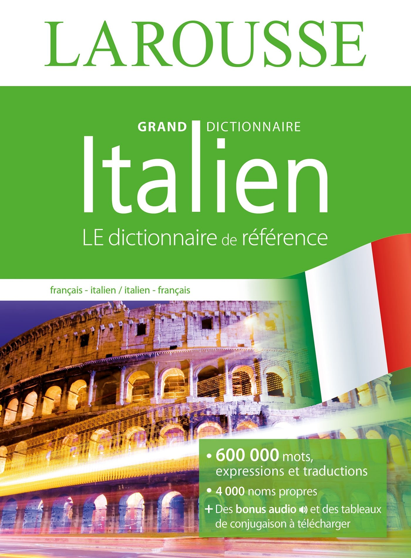 Amazon Fr Grand Dictionnaire Francais Italien Collectif