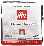 illy Caffè Iperespresso Tostatura Media - 6 confezioni da 18 capsule  (tot 108 capsule)