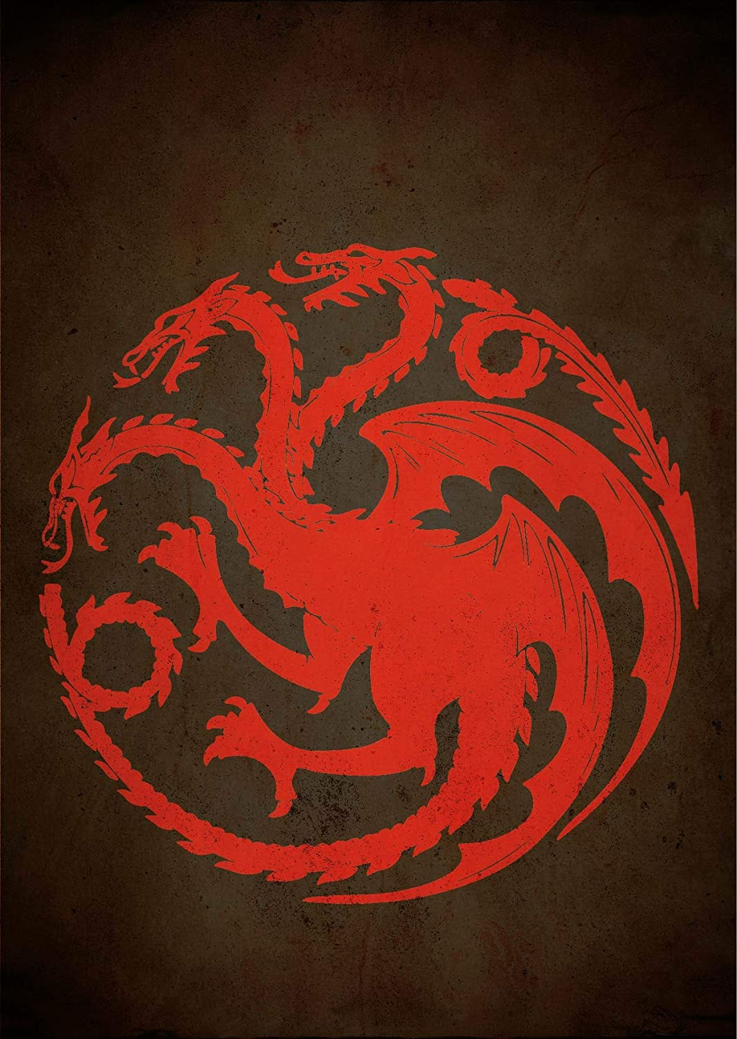 Amazon Com Game Of Thrones House Symbols Minimalist Poster House Targaryen Print Got Art Poster Fire And Blood Guess Quiz Test Houses Words Mottos Banners Artwork Home Decor Wall Hanging Cool Gift Handmade