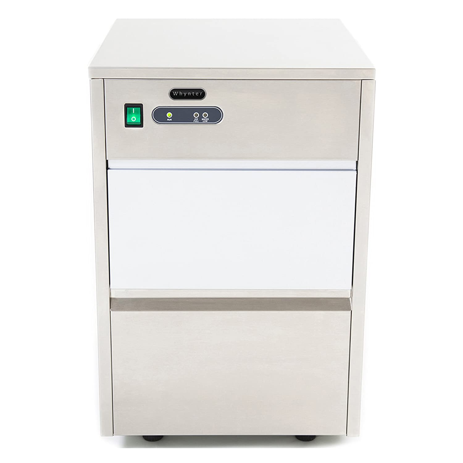 Whynter FIM-450HA Freestanding Ice Maker, Stainless Steel