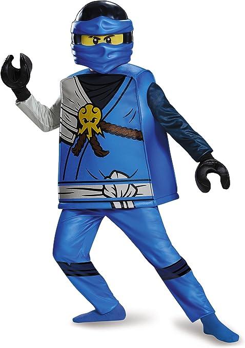 LEGO Ninjago 98123 K Jay Deluxe disfraz (Tamaño pequeño), M ...