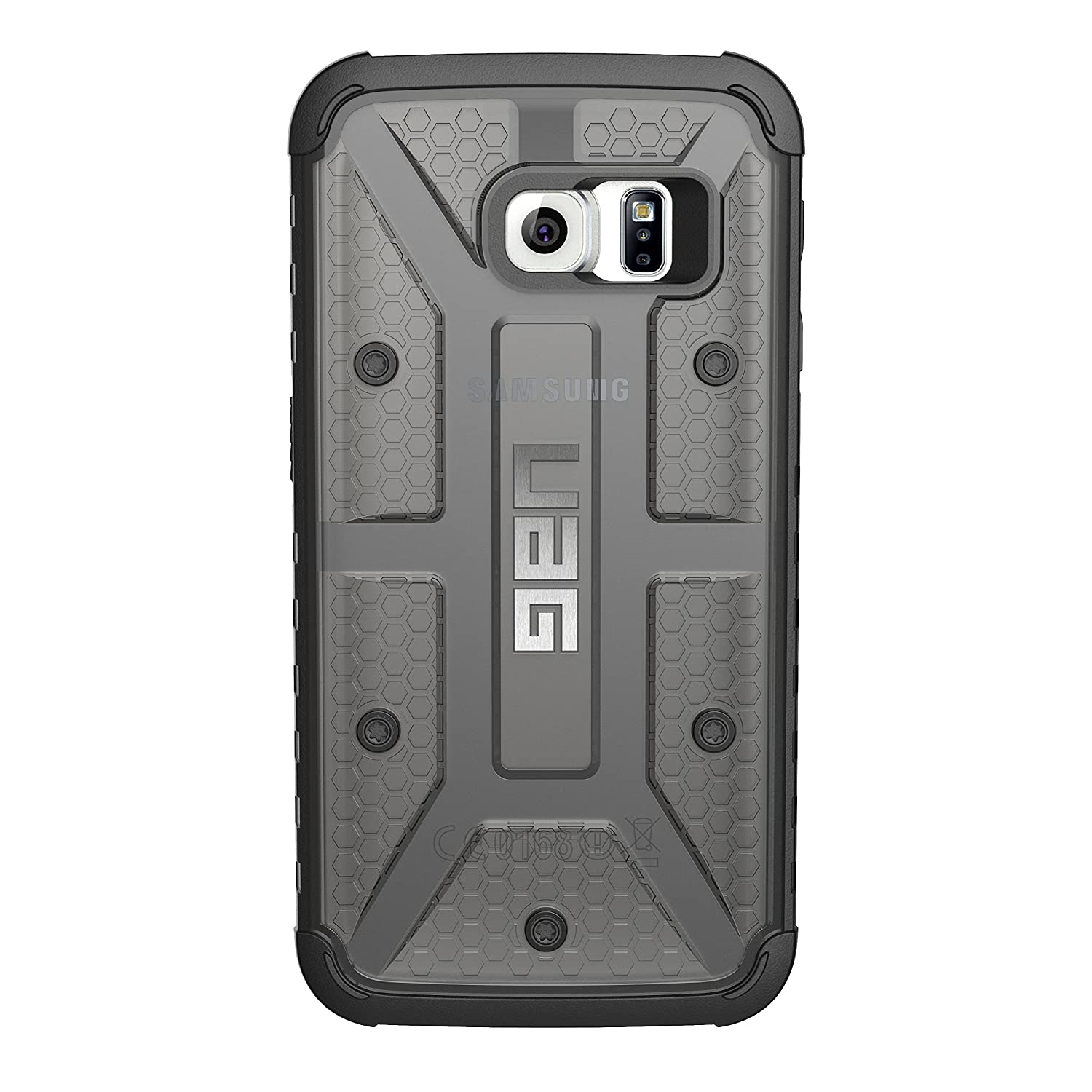 Galaxy s6 cases shop samsung cases online uag urban armor gear - Amazon Com Uag Samsung Galaxy S6 Edge 5 1 Inch Screen Feather Light Composite Ash Military Drop Tested Phone Case Cell Phones Accessories
