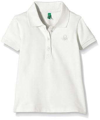 Benetton 3BG8C3036 - Polo Niños, Blanco (White), 1 Años: Amazon ...