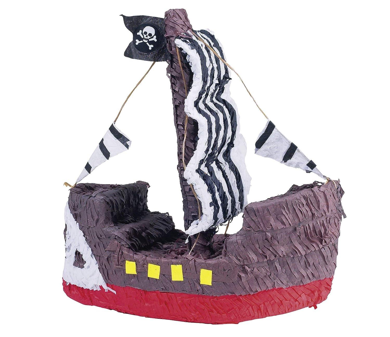 amscan - P12933 - Jeu de Société - Pinata Bateau Pirate