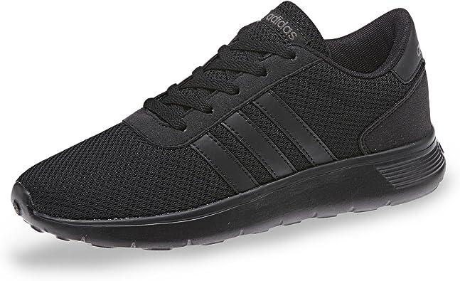 adidas Lite Racer Ladies Footwear Black Womens Trainers Sneaker Shoes