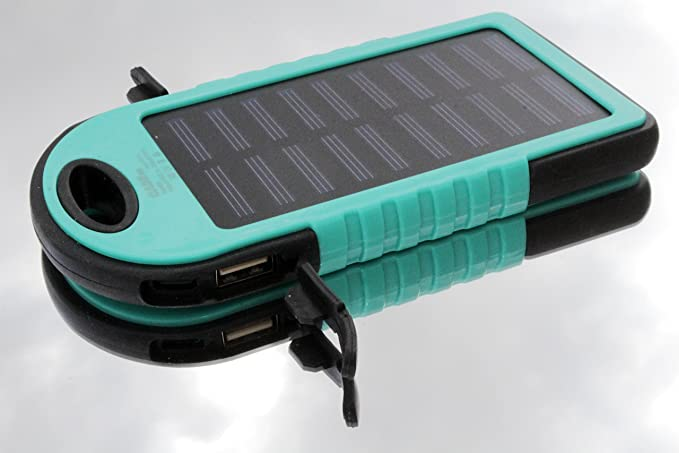 Amazon.com: Cargador solar, Solar Power Bank 30000 mAh ...