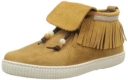 Victoria Botin Flecos Serraje, Botas Desert para Mujer, Marrón (Cuero 71), 39 EU: Amazon.es: Zapatos y complementos