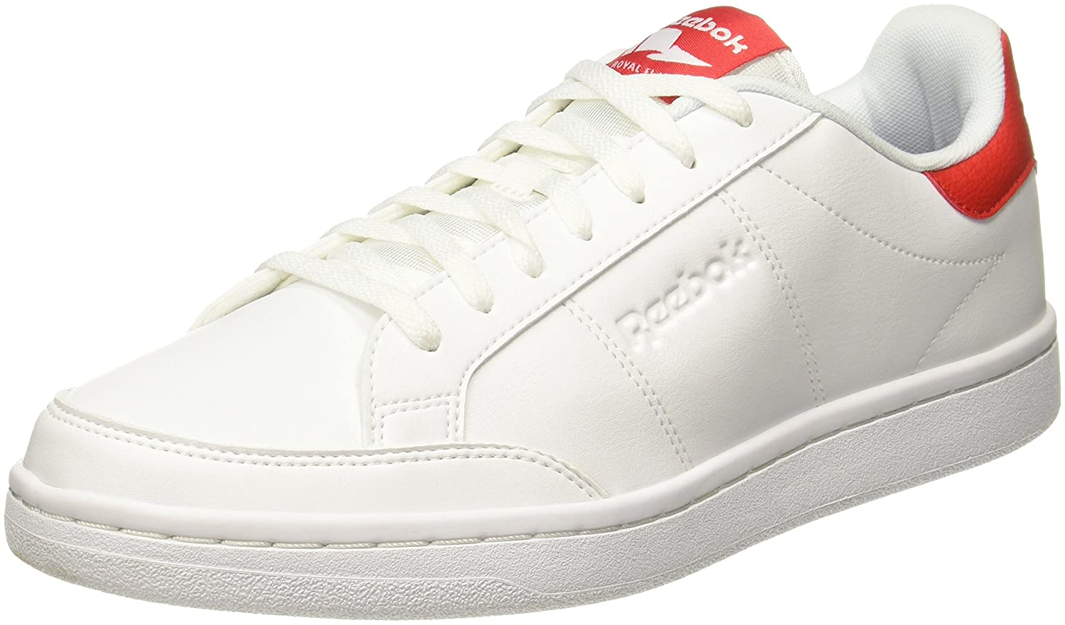 Reebok Herren Royal Smash Sneaker  45 EU|Wei? (White/Primal Red)