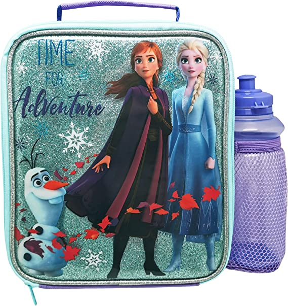 Disney Frozen Pencil Case Elsa Anna Olaf Accessory Case Bag Ice Snowflakes
