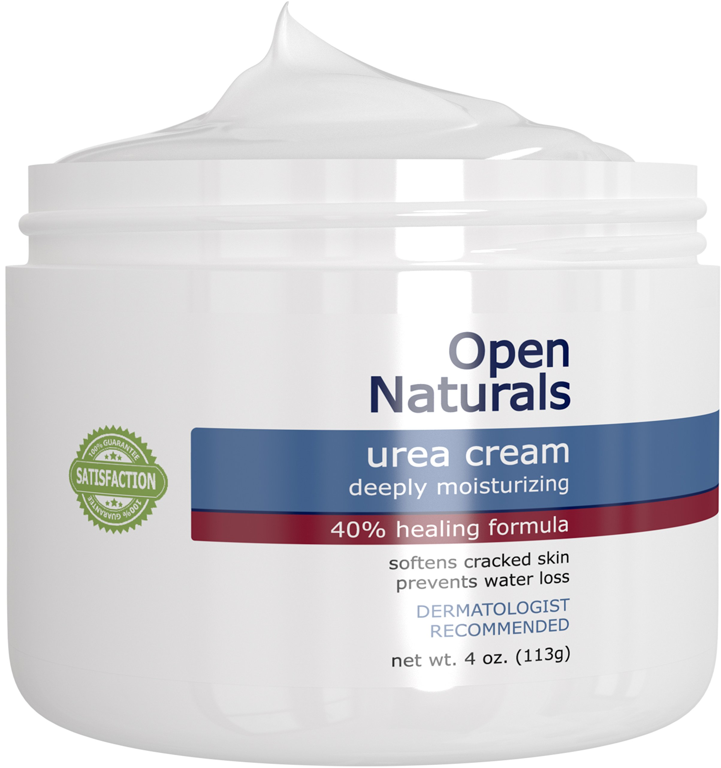 Open Naturals Urea 40% Foot Cream - 4 oz - Premium Callus Remover - Moisturizes and Rehydrates Thick, Cracked, Rough, Dead and Dry Skin - Elbow, Feet - Your Satisfaction or 100% Money Back Guarantee by Open Naturals (Image #4)