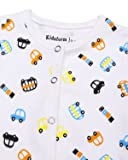Kidsform Unisex Infant Baby Cotton Rompers Footless