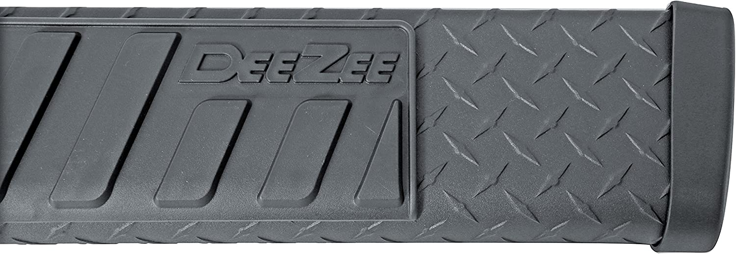 Dee Zee DZ16421 6 Oval Black-Tread Side Steps
