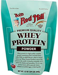 product image for Bob's Red Mill Whey Protein Powder, 12-ounce (Package May Vary)