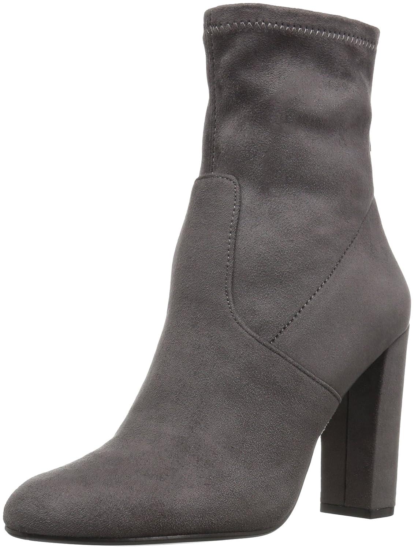 Steve Madden Women's Brisk Ankle Bootie B01G7P4JYE 6 B(M) US|Grey