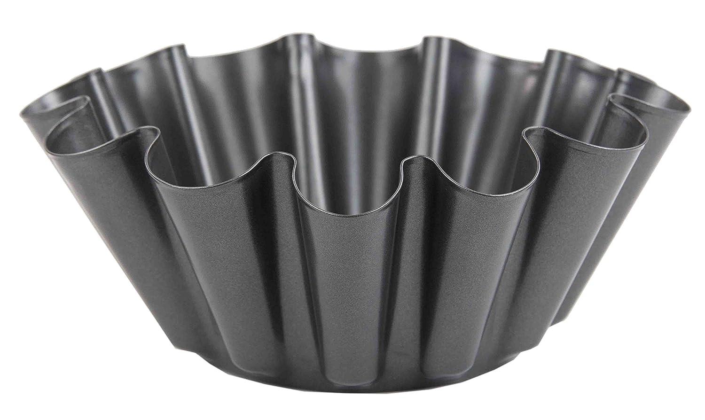 Home Basics BW44816 Non-Stick Brioche Baking Pan Mold Gray