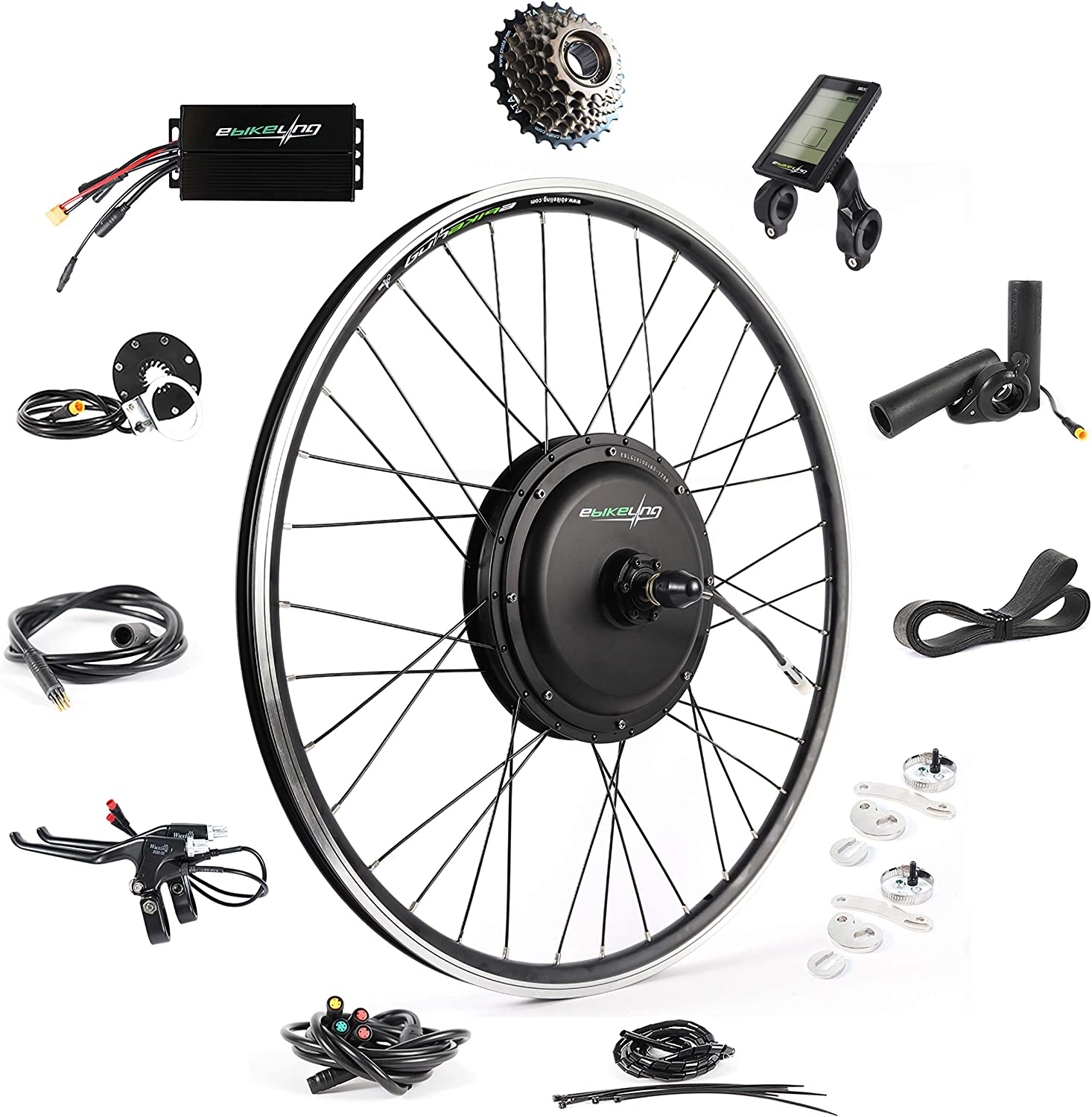 EBikeling Direct Drive Waterproof Ebike Conversion Kit