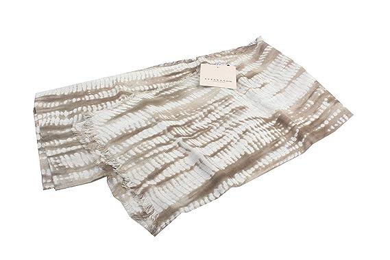 Stylesnob Dänemark Damen Schal Tuch Scarf weißbraun meliert
