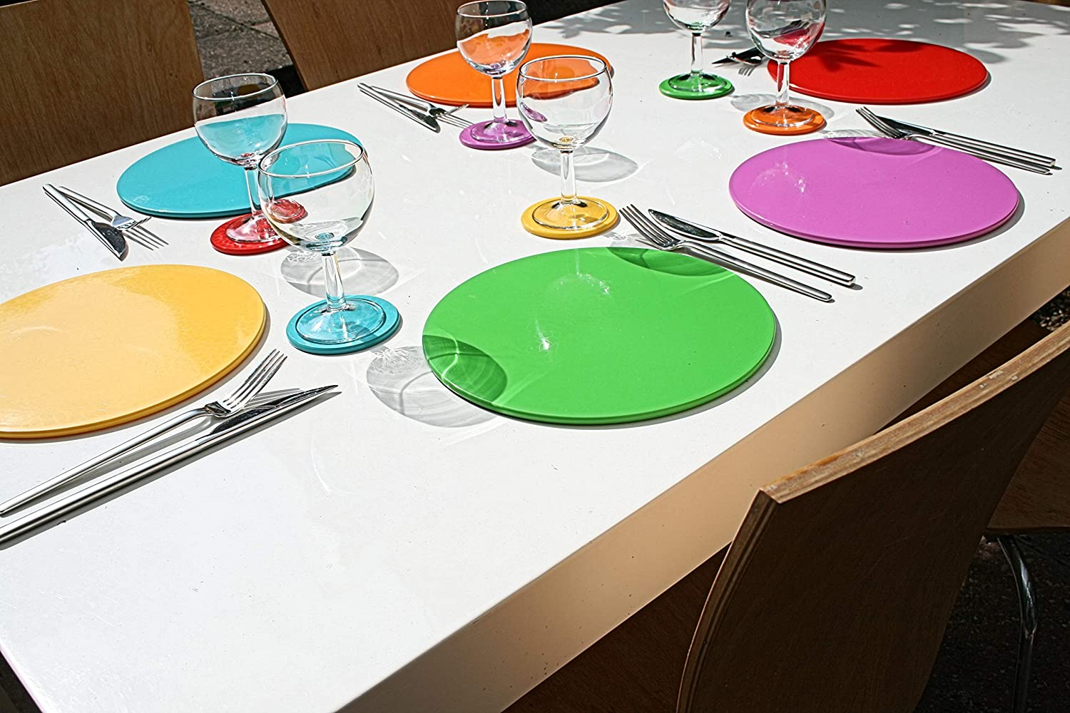 Top 6 Colours Below To See All Intech Products. intech-gecko Dishwasher Safe Placemats And Coasters Click Intech Jazz Up Your Table