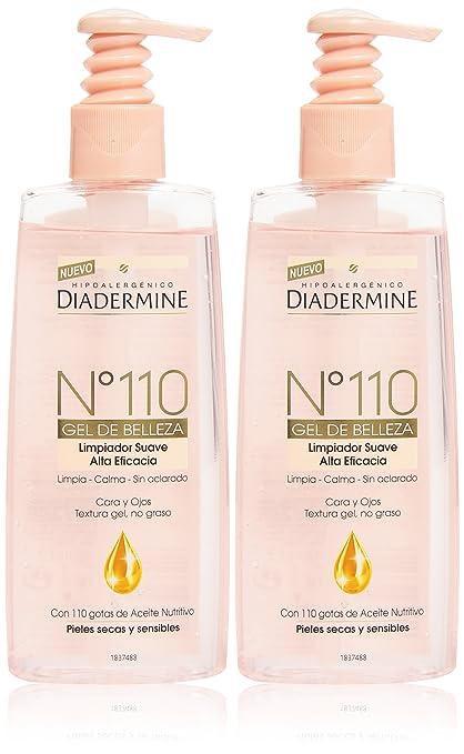 Diadermine Nº110 Gel Limpiador Suave - 2 Piezas