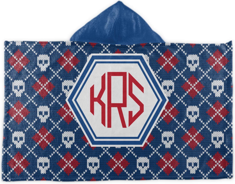 100%正規品 ニットアーガイル& ) Skullsフード付きタオル( Personalized ) B07764HLY8 Personalized B07764HLY8, ヨシムラ:e8636c3e --- a0267596.xsph.ru