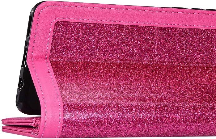 FUNDA Carcasa para Samsung Galaxy S20 Ultra,Funda de Piel tipo Flip Case Libro Billetera Cuero Pu Glitter Brillante De Lujo Funda,[9 Ranuras Tarjetas ] Cubierta Magnetic,Soporte Plegable Funda,Rojo: Amazon.es: Oficina y papelería