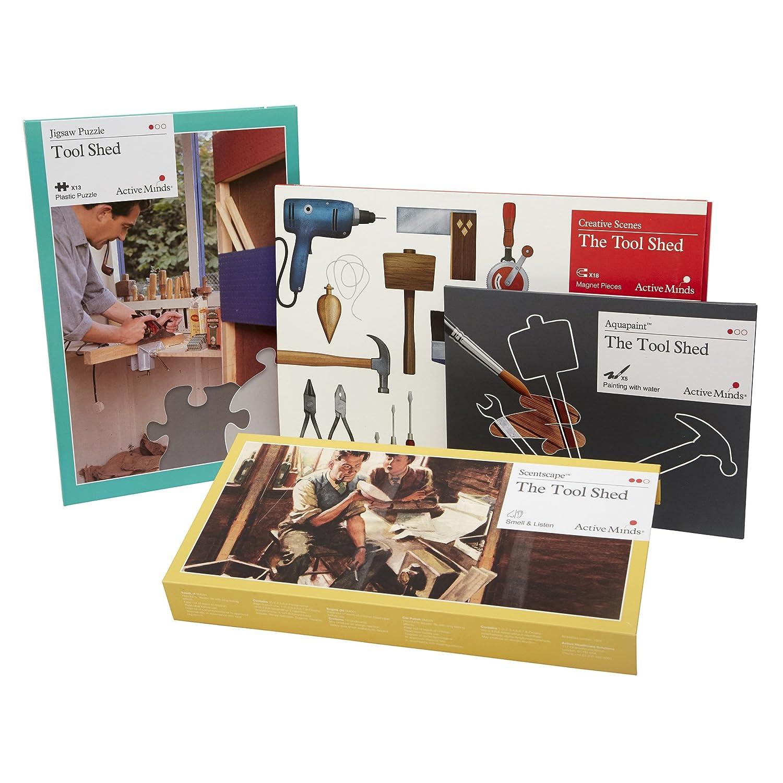 Cobertizo de jardín demencia paquete de actividades: Atención especializada casa actividades y recursos por la mente activa: Amazon.es: Juguetes y juegos
