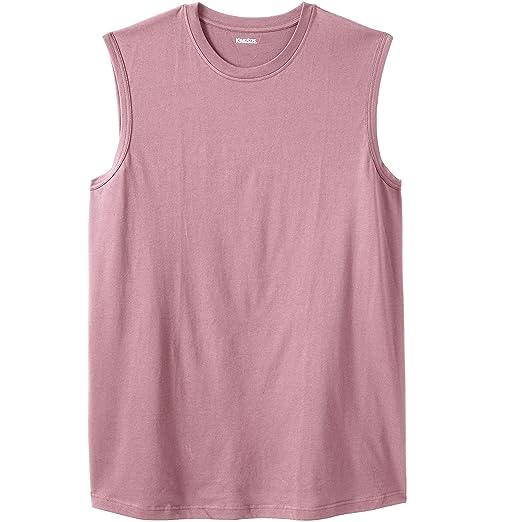 3076251c KingSize Men's Big & Tall Lightweight Muscle T-Shirt