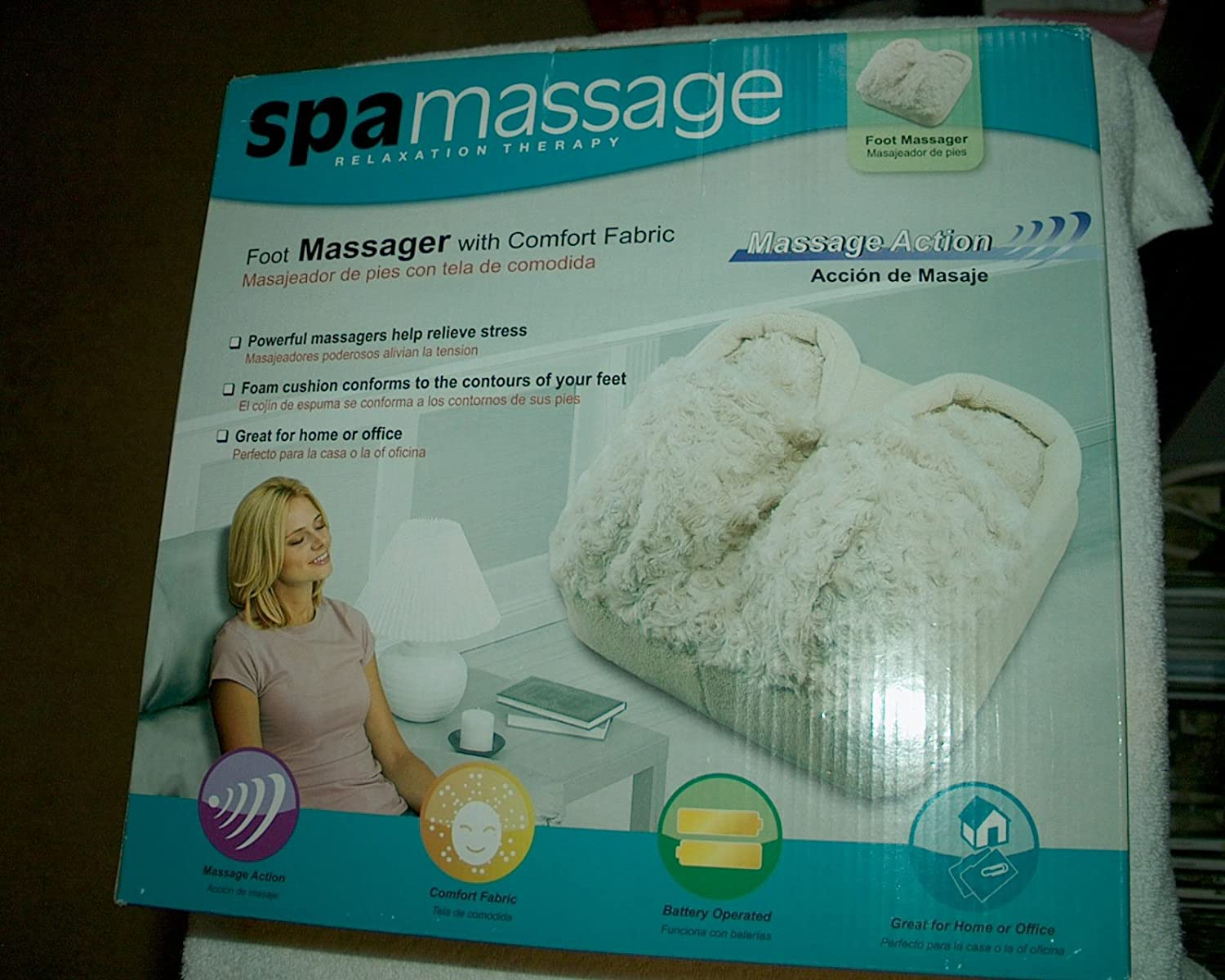 Amazon.com: Spa Massage Relaxation Therapy Foot Massager ...