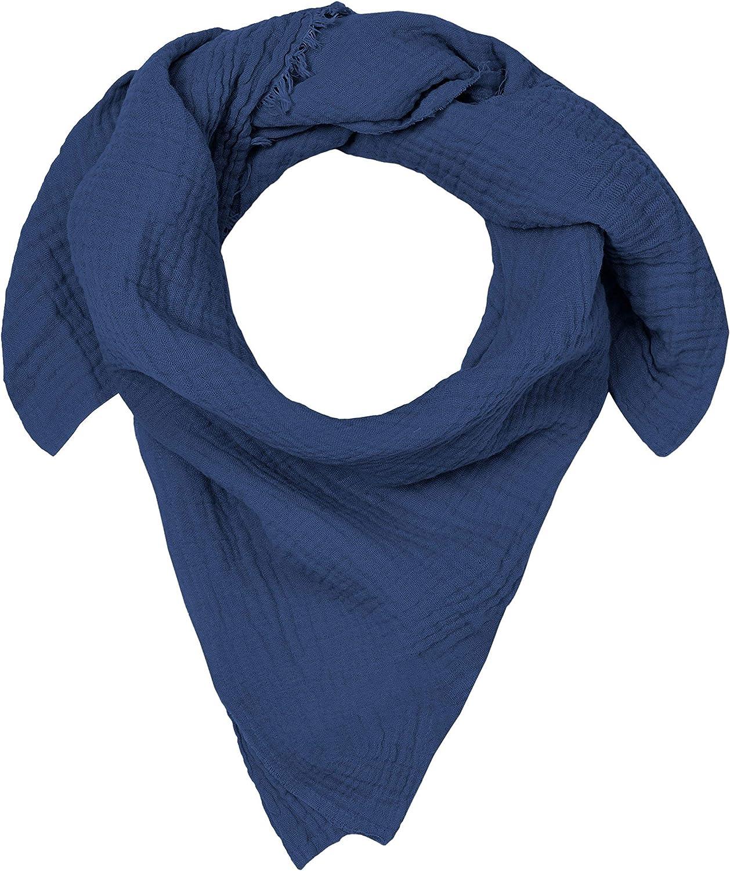 - tutti i materiali certificati OEKO-TEX/® Standard 100 Blausberg Baby Blu Sciarpa di mussola per bambini al nodo fatti a mano ad Amburgo