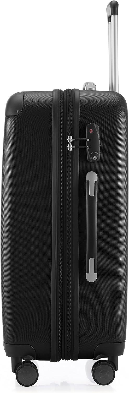 HAUPTSTADTKOFFER Spree Luggage Suitcase Hardside Spinner Trolley Expandable 24/¡/° TSA Purple