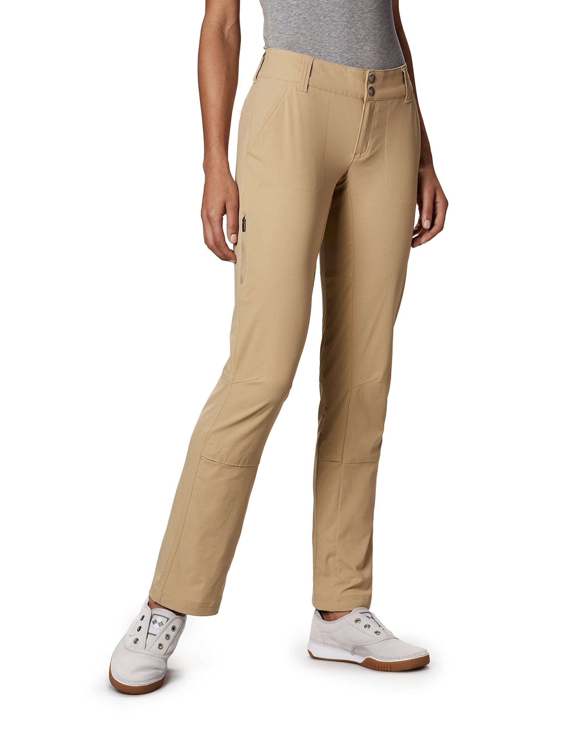 Columbia Sportswear Women's Saturday Trail Pants, British Tan,4 Regular by Columbia