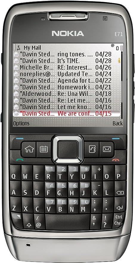 Nokia E71 - Móvil libre (pantalla de 2,36