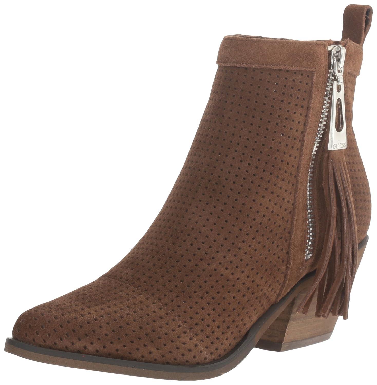 GUESS Women's Talzay Ankle Bootie Toffee