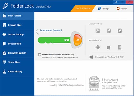 المجلدات Folder Lock 7.7.5 813OGZyMXCL._SX522_.png